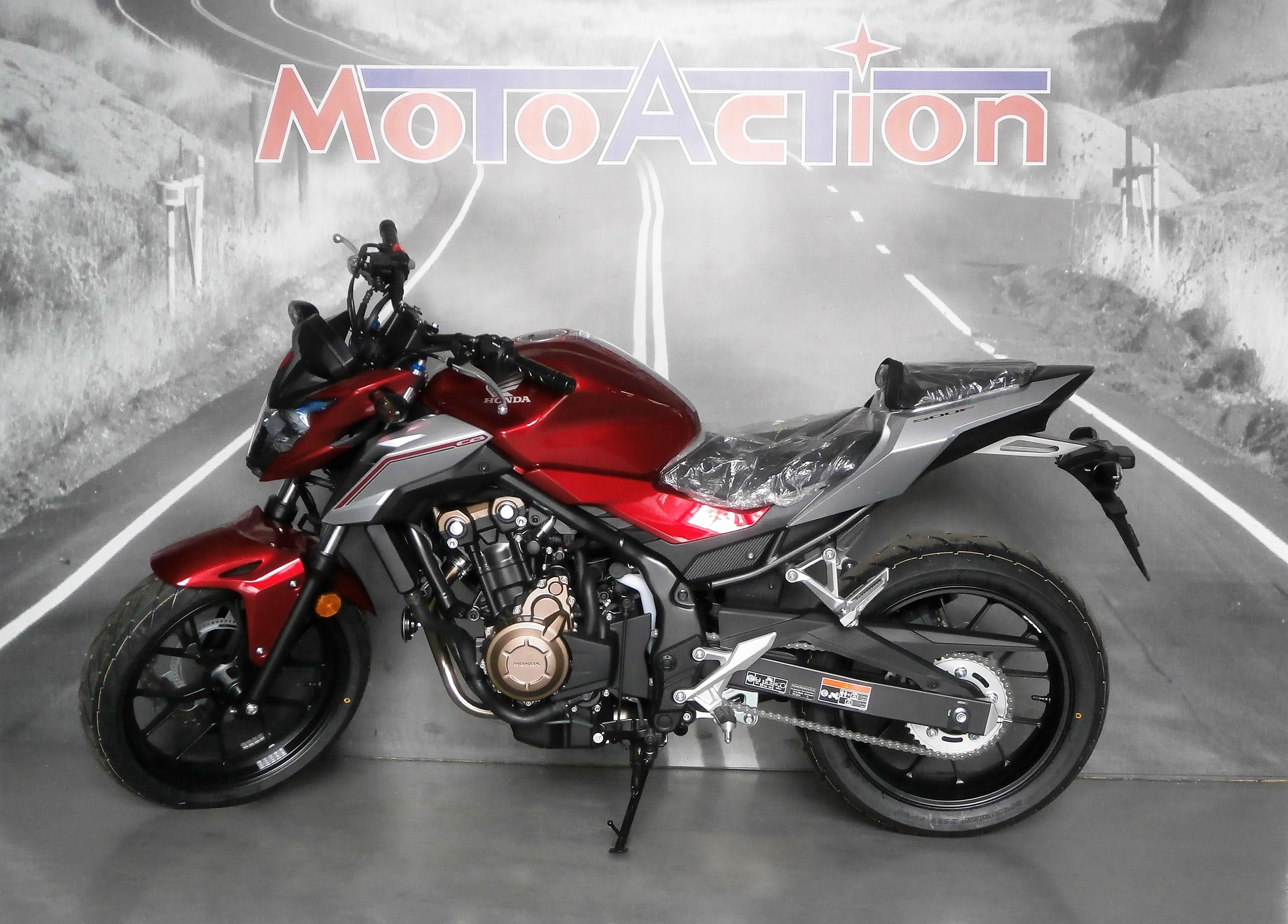 honda cb 500 f nuovo 2018 moto action concessionaria. Black Bedroom Furniture Sets. Home Design Ideas